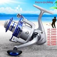 12Ball Bearing Spinning Fishing Reel Wheel Kit Fresh/Salt Water AL Series New