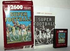 SUPER FOOTBALL GIOCO USATO BUONO ATARI VCS 2600 EDIZIONE AMERICANA FR1 42860