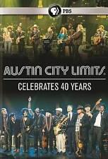 Austin City Limits Celebrates 40 Years-2014 DVD-Sealed-NEW-PBS-110 minutes-RARE