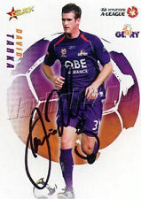 ✺Signed✺ 2008 2009 PERTH GLORY A-League Card DAVID TARKA