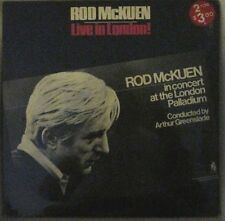 Rod McKuen Live in London! 1970 Stanyan Recs FOLK MUSIC POETRY Sealed Double LP