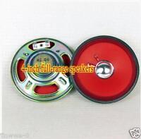 "1pcs 4"" inch Ultra-thin Full-range speaker radio Loudspeaker 8 ohms 2W"
