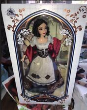 "NIB Disney Store 2017 Princess SNOW WHITE Limited Edition 17"" LE Doll On Hand #2"