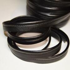 Passepoil simili cuir noir, de belle qualité - Passepoil cuir noir