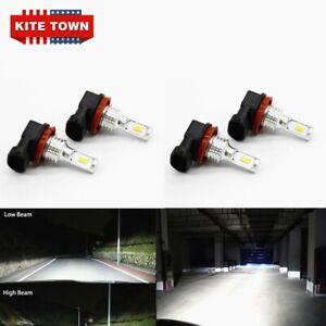 Headlights For Nissan Rogue 2014-2020 LED Hi Low Beam Bulbs Upgrade Kit 6000K