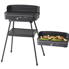 DAVIS & WADDELL Essentials 2 in 1 Electric BBQ Barbecue / Indoor Grill w/ Stand!