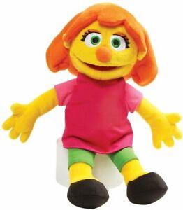"GUND Sesame Street Julia Stuffed Plush, 14"""