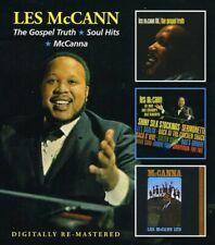 Gospel Truth/Soul Hits/Mccanna - 2 DISC SET - Les Mccann (CD New)