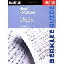 Berklee Press Theory And Technique For Music Notation Book NEW!