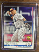2019 Topps Baseball Rookie Cup Card Gleyber Torres #7 RC New York Yankees MLB
