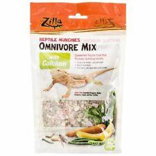 New listing Lm Zilla Reptile Munchies - Omnivore Mix with Calcium 4 oz