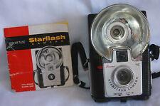 Brownie Starflash Camera W/Kodak Dakon Lens 127 Color Or BW With Instructions