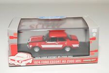 * GREENLIGHT FORD ESCORT RS 2000 MKI MK1 1974 RED MINT BOXED