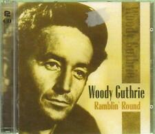Woody Guthrie(CD Album)Ramblin' Round-New