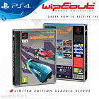 WipEout Omega Collection - Sony PlayStation 4 PS4 Limited Edition Classic Sleeve