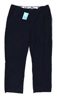 Womens Preworn Blue Trousers Size 16/L28