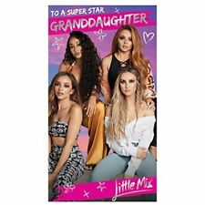 Little Mix Granddaughter Birthday Card NEW