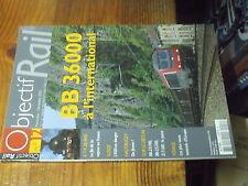 3µ? revue Objectif Rail n°12 ASD BB 36000 Franche Comté Picasso de ABFC Z7100