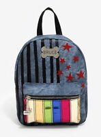 Harley Quinn Mini Backpack Bag DC Comics Birds Of Prey Bioworld NEW