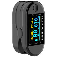 OLED Finger Tip Clamp Pulse Oximeter Blood Oxygen SpO2 Meter Heart Rate Monitor