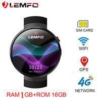 LEMFO LEM7 2018 4G Smartwatch Men Telefon GPS WiFi 16GB Pulsuhr Für Android iOS