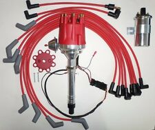 BIG BLOCK CHEVY 396-427-454 Pro Series Small HEI Distributor+45K Coil+Plug Wires