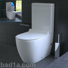 Stand Dusch WC mit Taharet-Bidet Toilette inkl. Spülkasten GEBERIT Spülgarnitur