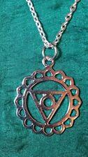 Modeschmuck-Halsketten & -Anhänger aus Metall-Legierung Chakra