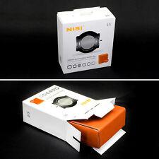 Nisi 100mm +Adaptor Rin Holder V5 Pro Filter CPL+Case+67 / 72 / 77 /82mm System