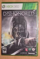 Dishonored (Xbox 360) NEW FACTORY SEALED --- Original Release Cover --- Bethesda