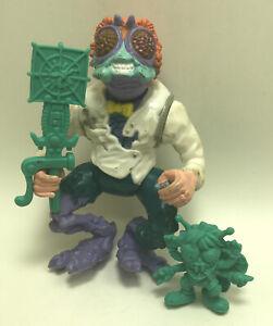 1989 Baxter Stockman Teenage Ninja Turtles TMNT Vintage Collectible Figure
