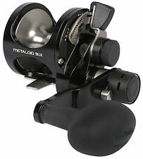 Okuma Metaloid Machined Aluminum 2-Speed Lever Drag Reel M-5IILX!
