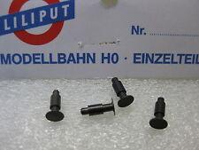 LILIPUT # 2169 Puffer/ Federpuffer, 4 Stück aus Metall original Ersatzteil H0