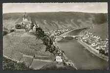 Cochem an der Mosel  Burg, Mosel und Neue Brücke von den drei Kreuzen (scheur)