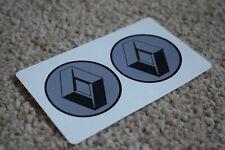 RENAULT Sport Motorsport Racing Car F1 GP Rally Alpine Clio Decal Stickers 50mm