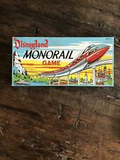 Disneyland Monorail Game All Pieces