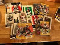 NFL *SUPER LOT* 30 serial numbered cards + 10 additional cards