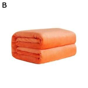 Mink Flannel Fleece Blanket Soft Plush Warm Bed Sofa Blanket 70*50cm Throw