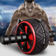 Abdominal Exercise Wheel Roller Workout Gym Fitness Musle Training Equipment