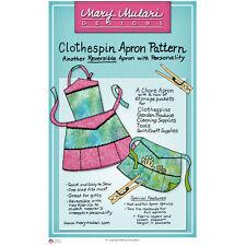"MARY MULARI DESIGNS ""CLOTHESPIN APRON"" Sewing Pattern"