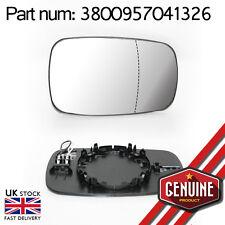 Espejo De Cristal Gran Angular Calefactables Lado Derecho + base Para Renault Clio Scenic