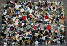 Lot 7 Lbs Vintage Sewing / Craft Buttons Mixed
