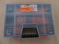 1X Plastic Container Toolbox Electronic Parts Case Storage Box