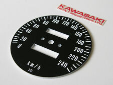 1973-80 Kawasaki z1 kz900 kz1000 gauge KILOMETER speedometer face plate KM guage