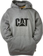 CAT Caterpillar Logo Sudadera Con Capucha Resistente Trabajo Jersey Hombre