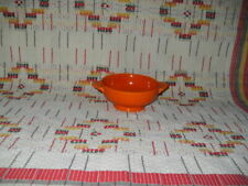 """RADIOACTIVE RED"" FIESTA CREAM SOUP BOWL -FIESTAWARE  -                    r29"