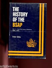 br- HISTORY OF THE BSAP( British South Africa Police) 1889-1939 2 vol,  HB,/dj