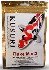 Kusuri Fluke-M gegen Haut- und Kiemenwürmer (2 x 65g) 130g f. 41 m³ Teichvoulmen