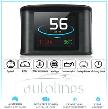 2018 GPS HUD Speedometer Digital Heads Up Display Car Speed Warning Plug & Play