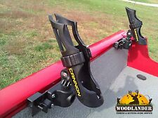 2x ROD HOLDER LUND BOAT SPORT TRACK + CANNON HOLDERS INSTALLED+ FREE SHIPPING